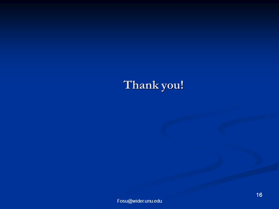 Thank you! 16