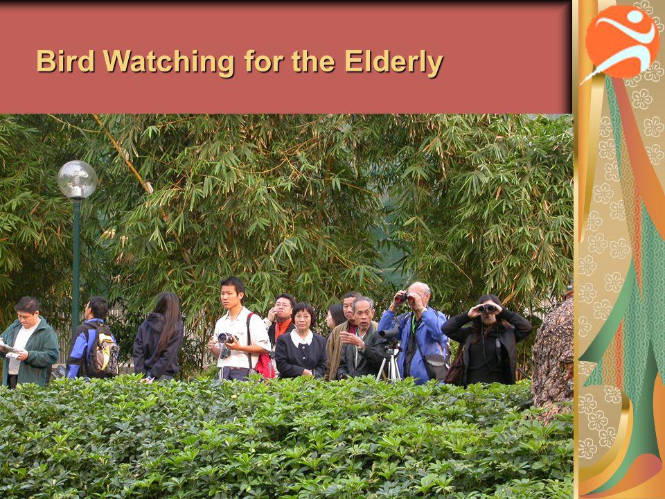 Bird Watching for the Elderly