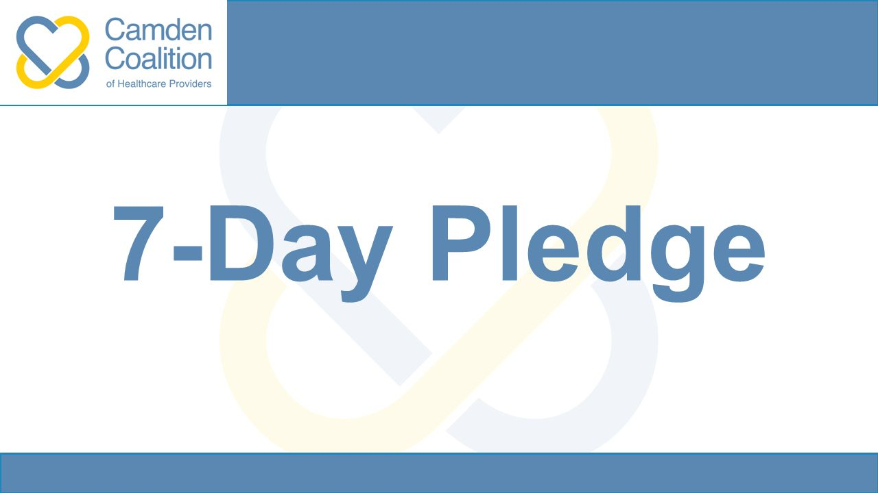 7-Day Pledge