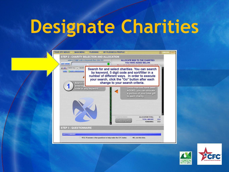 Designate Charities