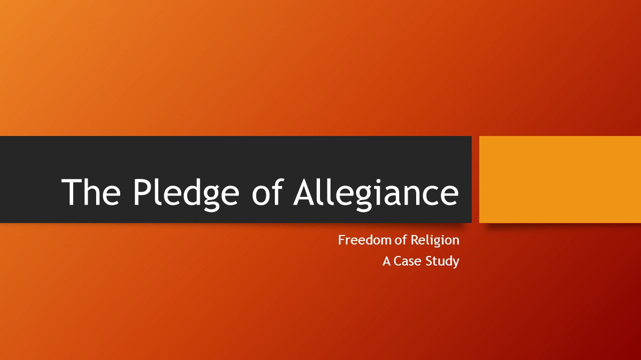 The Pledge of Allegiance was written in August 1892 by the socialist minister Francis Bellamy (1855-1931).