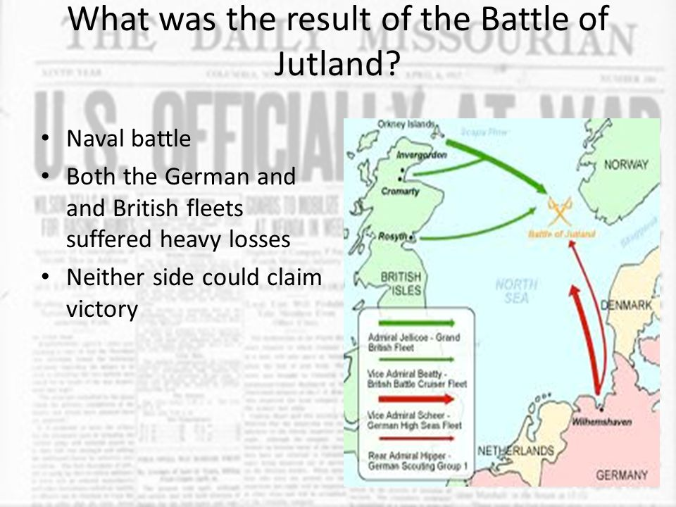 Based on the results of the Battle of Jutland, what conclusion did the Germans reach on how to attack the British navy.