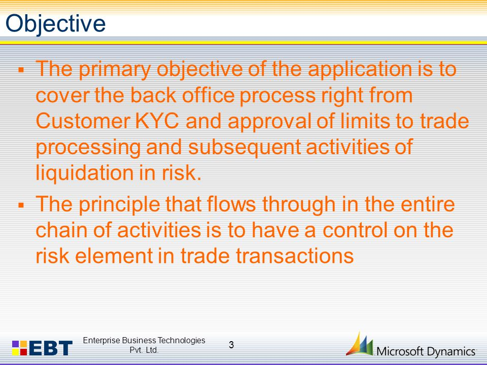  The Risk factor is controlled at the following stages:  Detailed KYC and Client approval process  Funding of poor quality of Trades  Honoring un-qualified Fund/Security withdrawal.