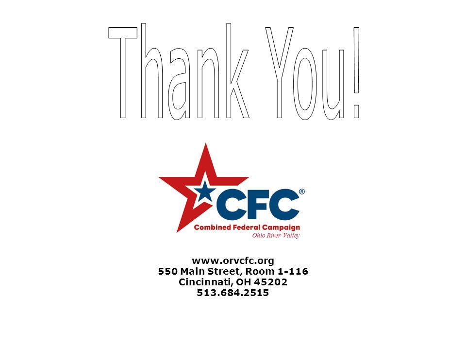 www.orvcfc.org 550 Main Street, Room 1-116 Cincinnati, OH 45202 513.684.2515