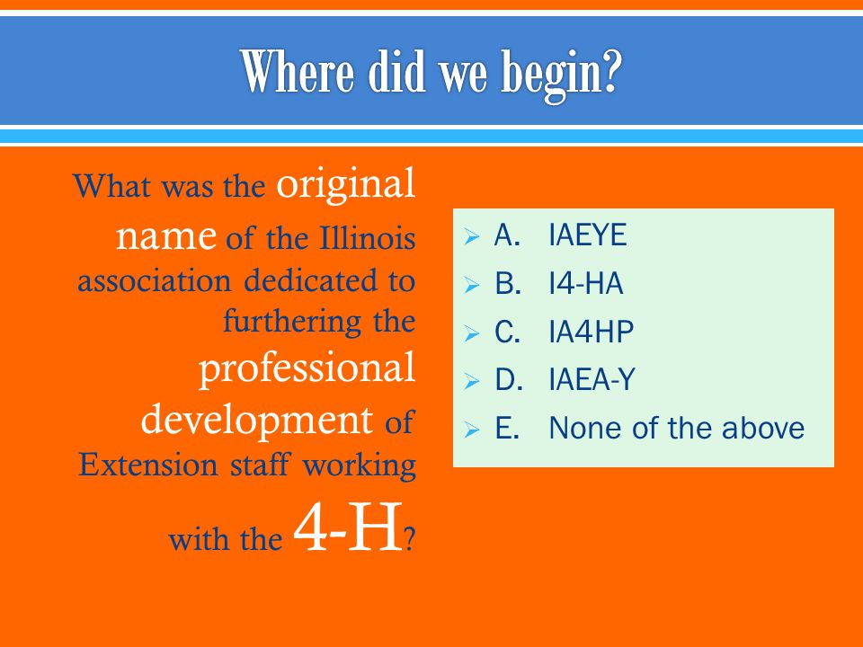 What was the original name of the Illinois association dedicated to furthering the professional development of Extension staff working with the 4-H .