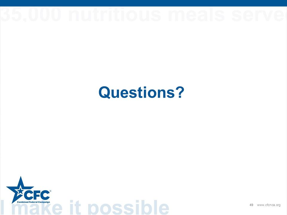 Questions 49www.cfcnca.org