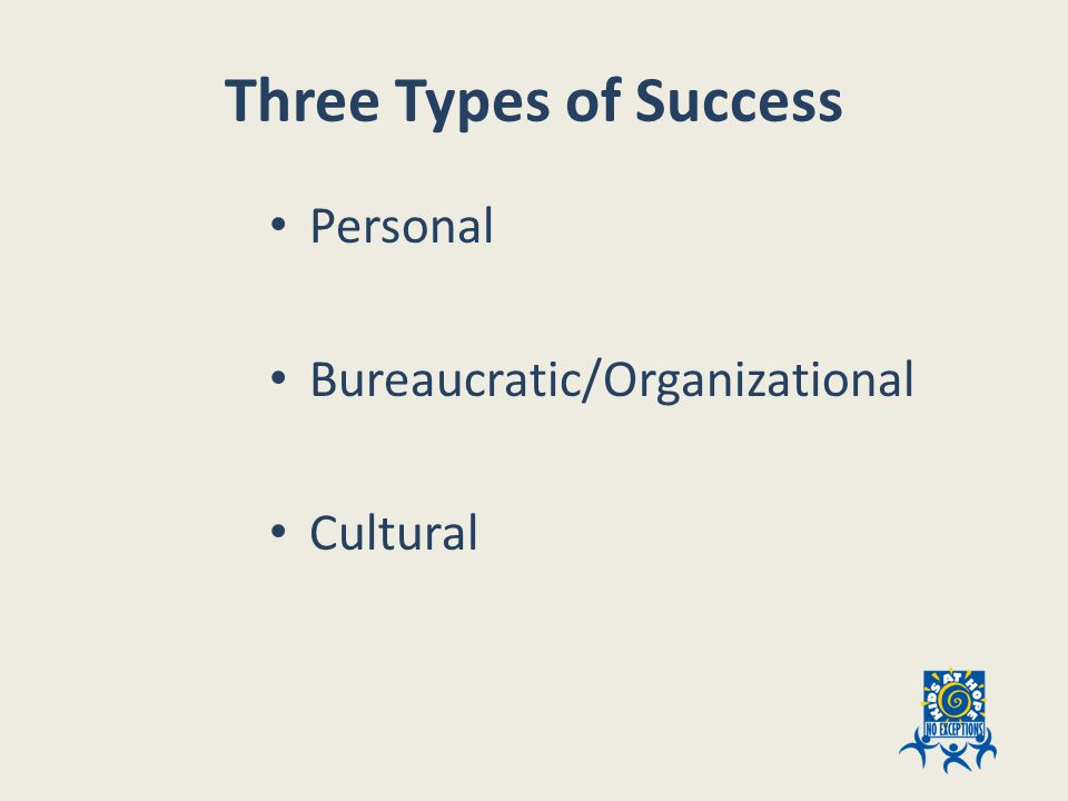 What is Cultural Success.