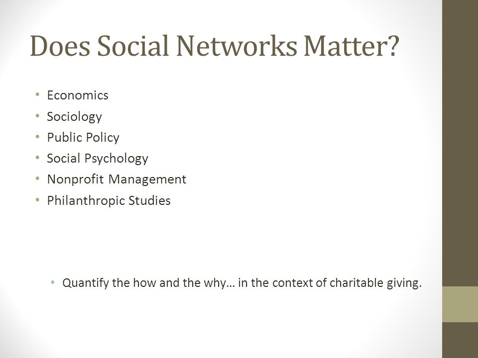 Study 5 Do you believe more or less than 10 friends or family have benefitted from this charity.