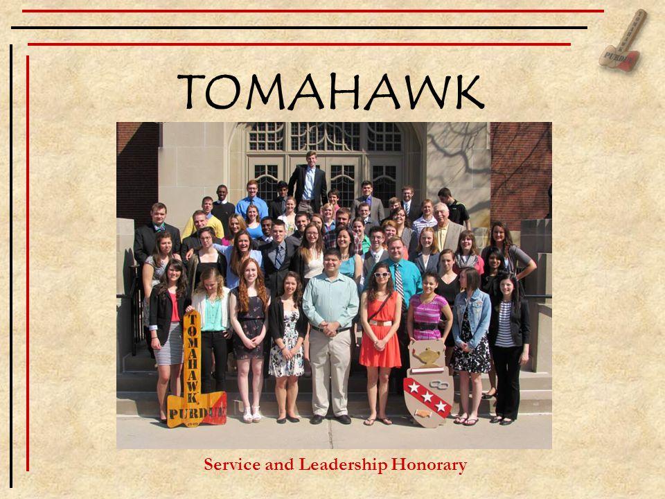 TOMAHAWK Service and Leadership Honorary
