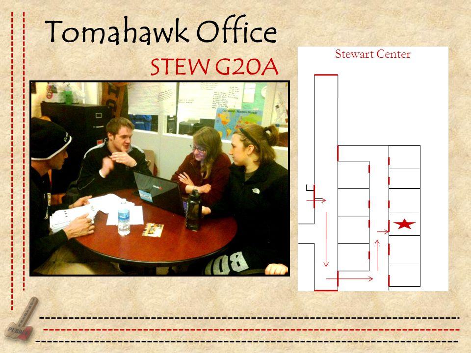 Tomahawk Office Stewart Center STEW G20A