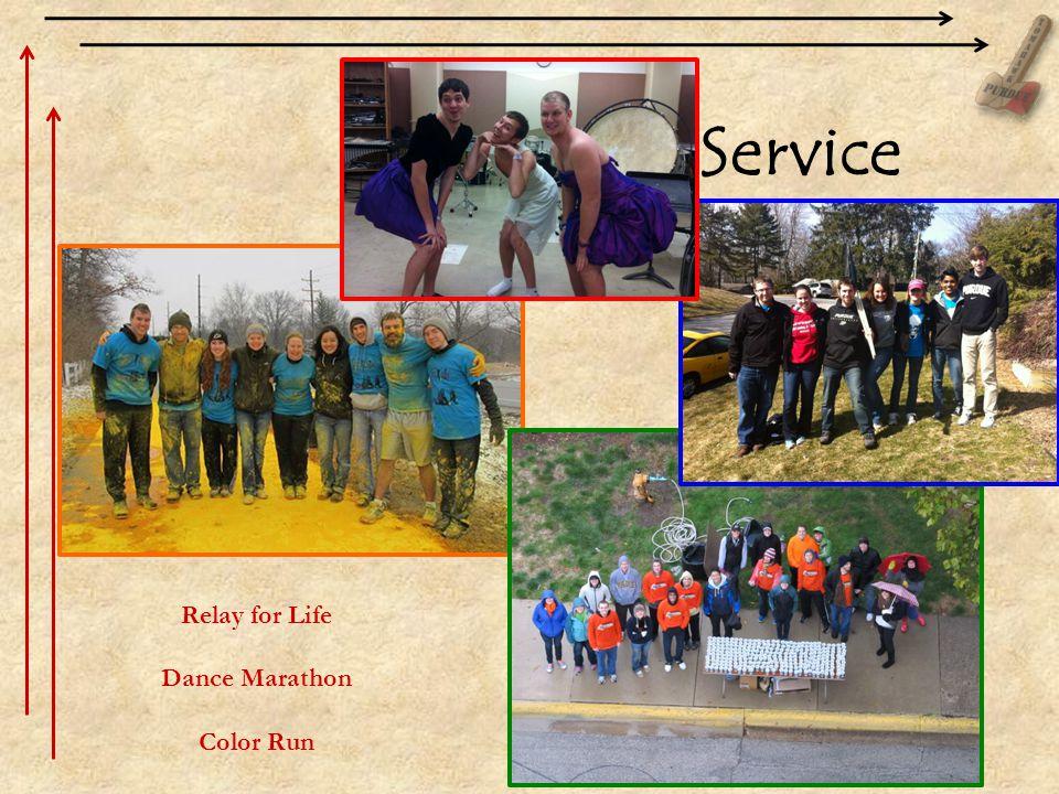 Relay for Life Dance Marathon Color Run Service