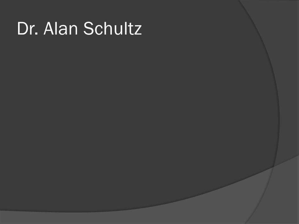 Dr. Alan Schultz