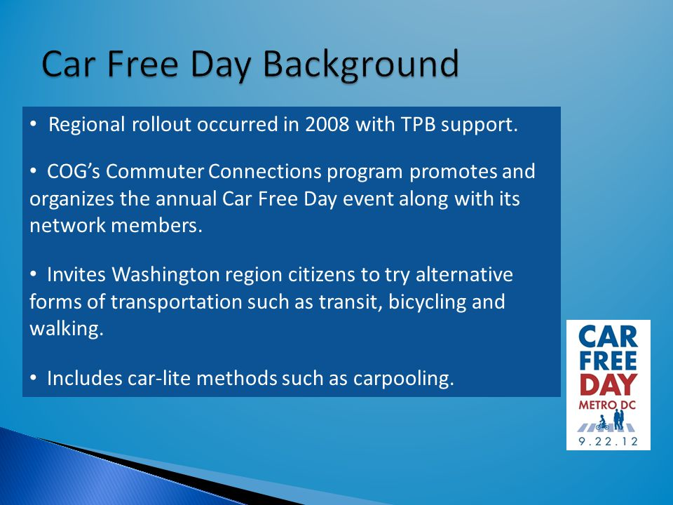 Regional rollout occurred in 2008 with TPB support.
