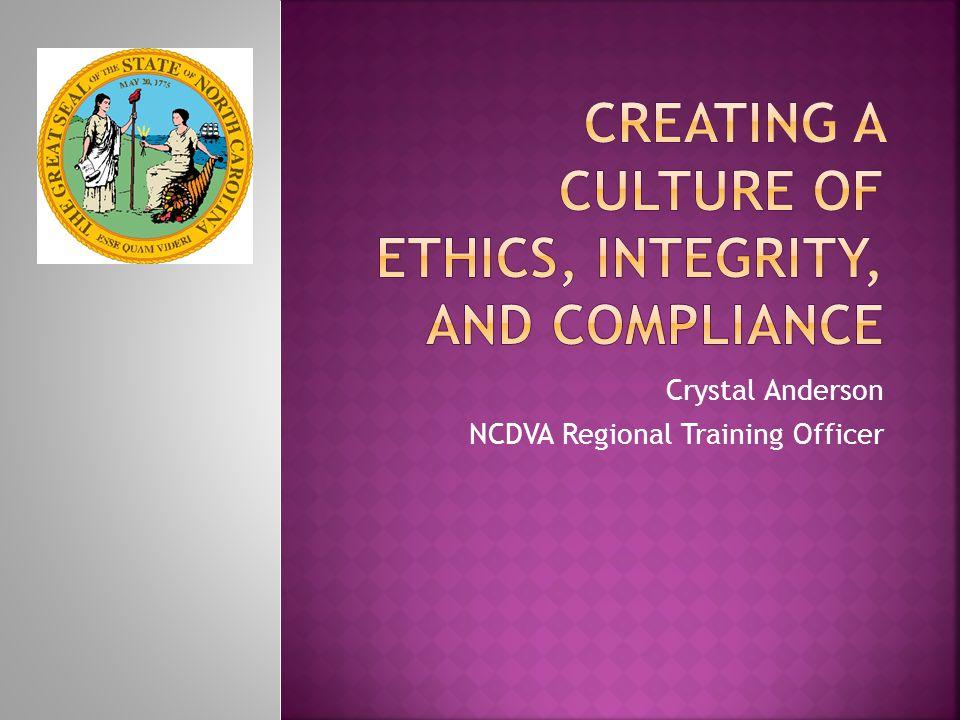 Crystal Anderson NCDVA Regional Training Officer