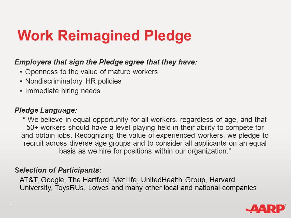 6 www.WorkReimagined.org