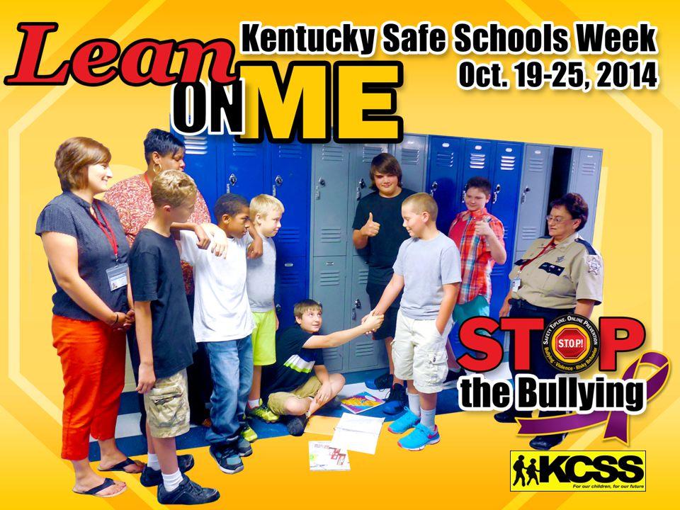 Karen McCuiston kmccuiston@murraystate.edu Kentucky Center for School Safety Murray State University