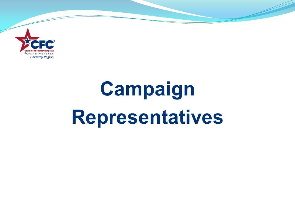 Campaign Representatives