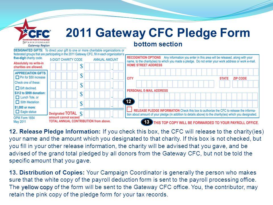 2011 Gateway CFC Pledge Form bottom section yellow copy 12.
