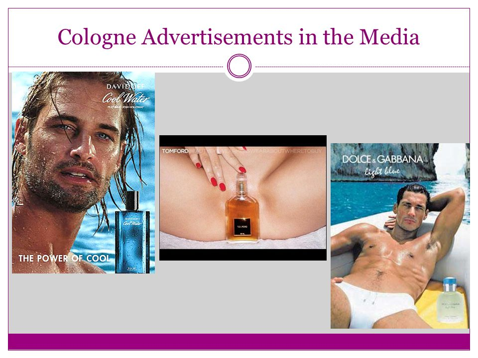 Cologne Advertisements in the Media