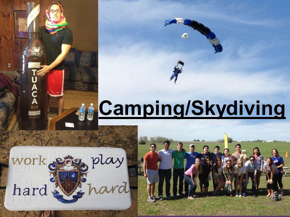 Camping/Skydiving