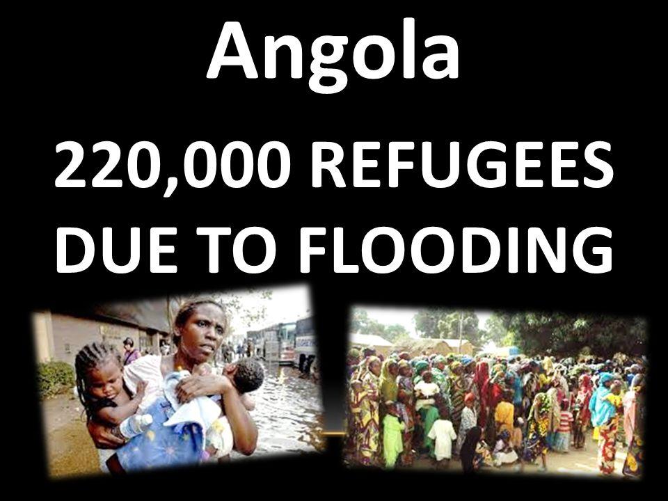 280,000 Refugees TROPICAL STORM ARLENE