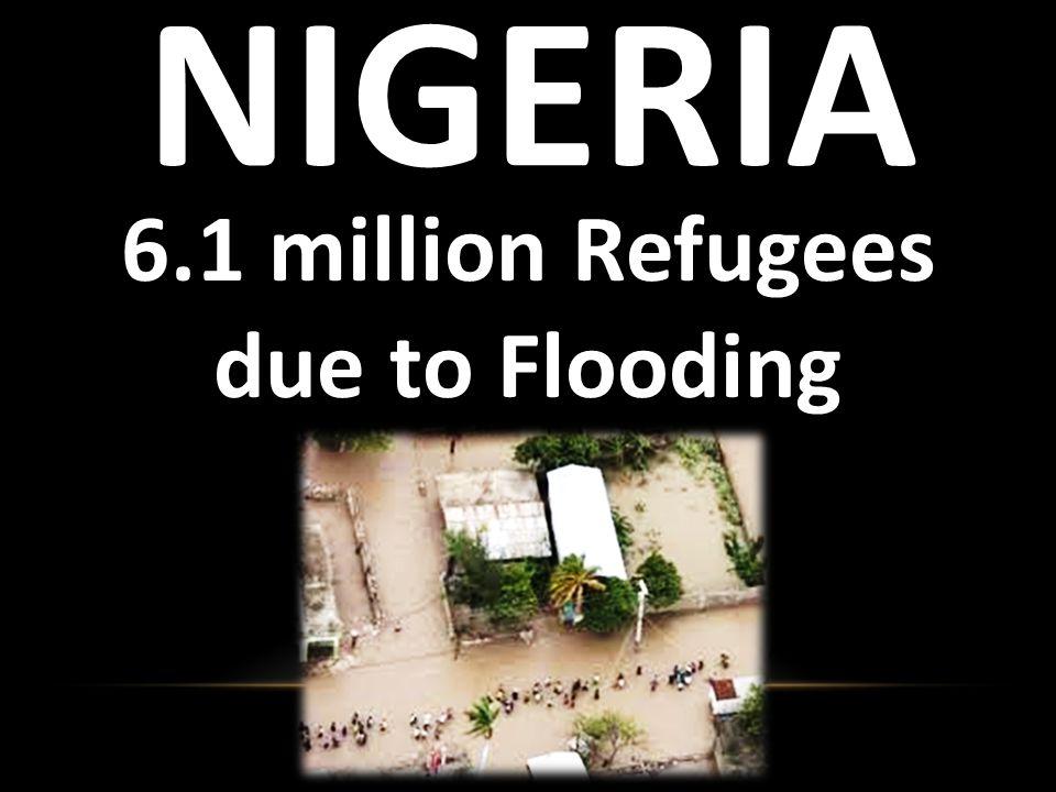 India 6.9 million Refugees due to Flooding