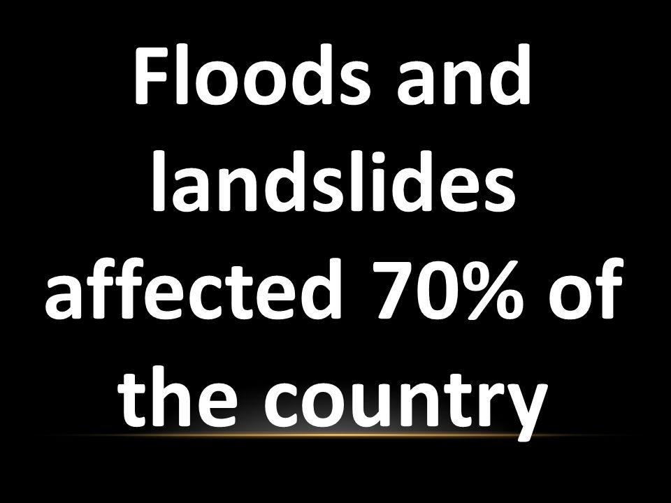 NIGERIA 6.1 million Refugees due to Flooding