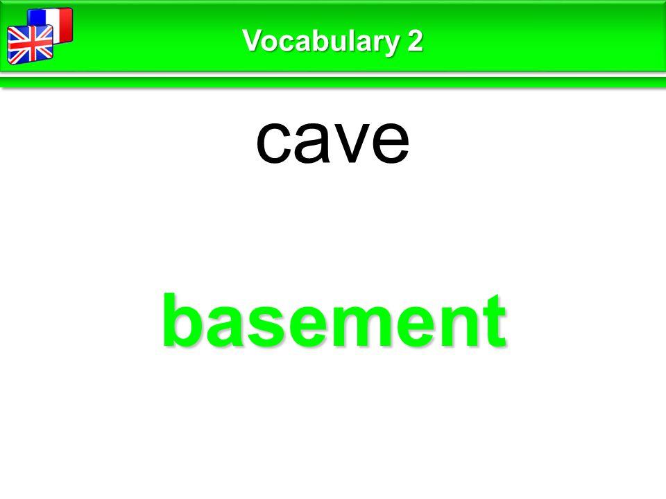 attic grenier Vocabulary 2