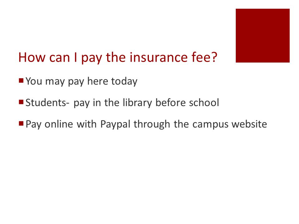 Online Payment via Paypal  Go to LBMS webpage at www.bisd.net/LBMS www.bisd.net/LBMS  Quick Links  iPad Insurance Fee Online Payment
