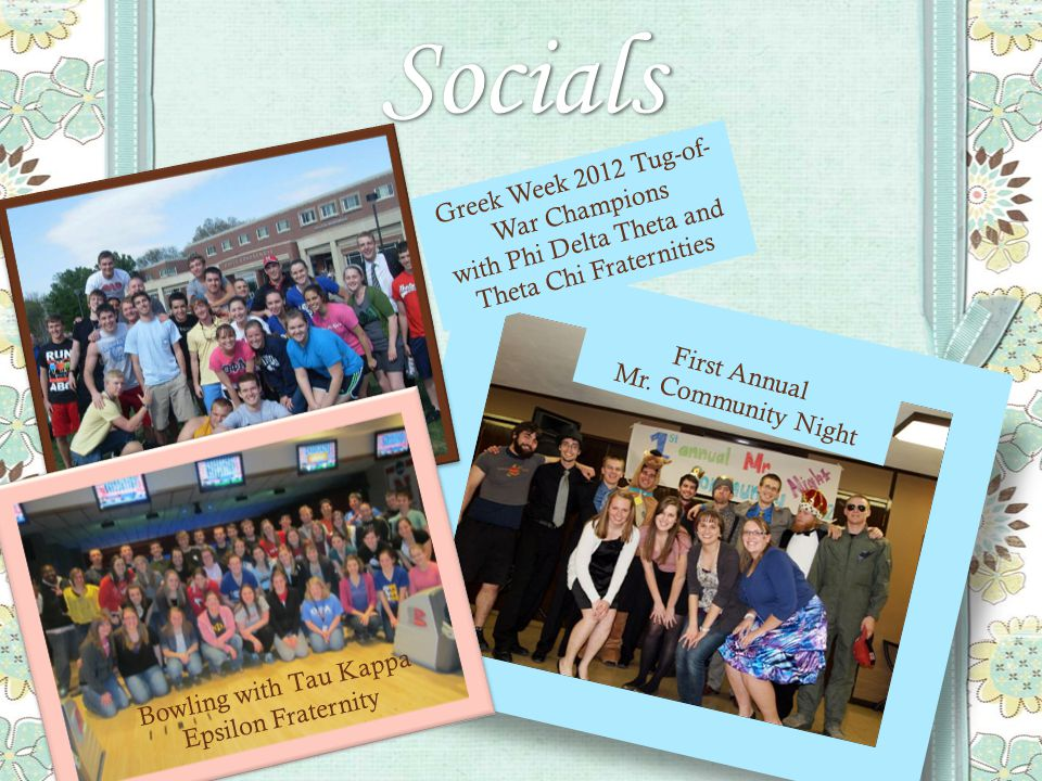 Socials First Annual Mr.