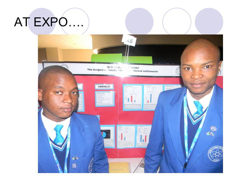 AT EXPO….