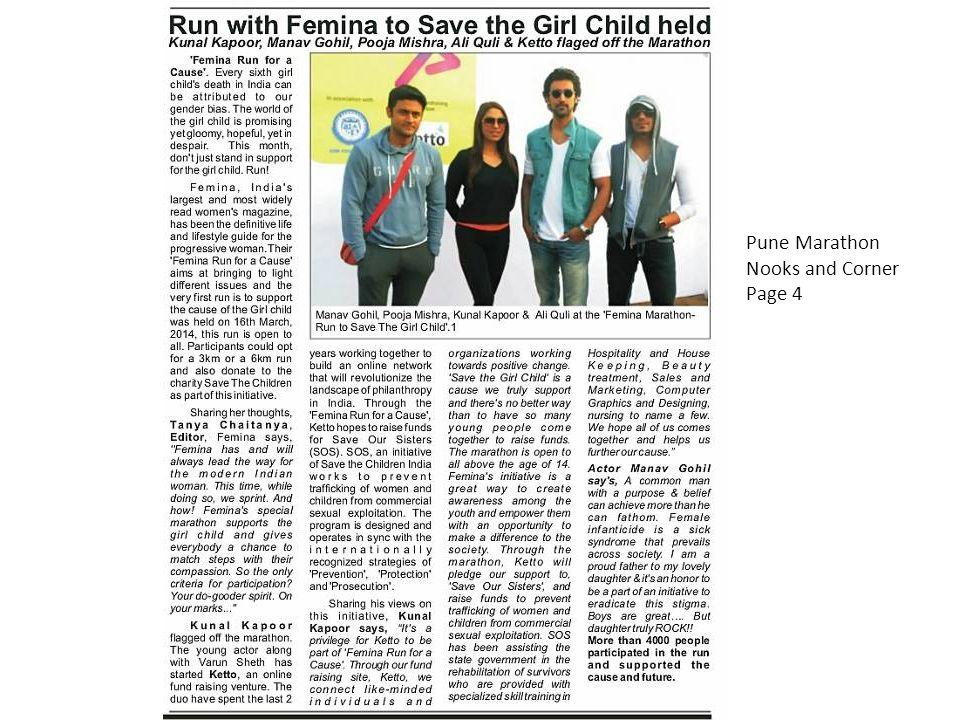 Pune Marathon Nooks and Corner Page 4