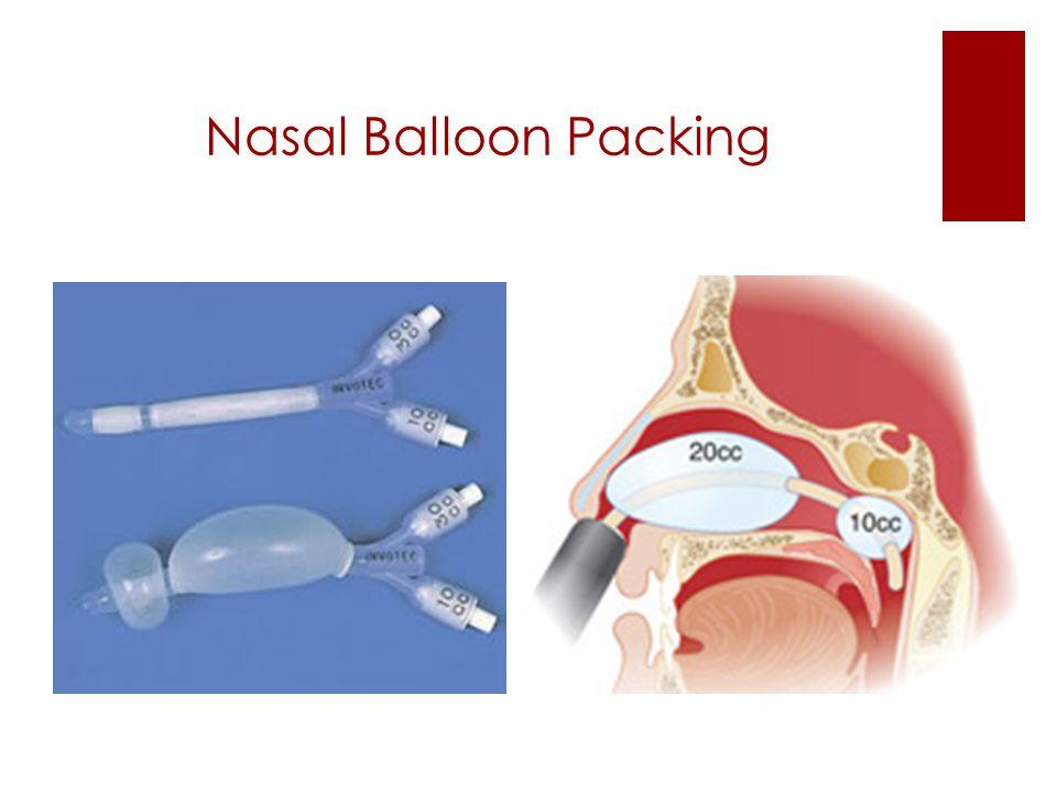 Nasal Balloon Packing