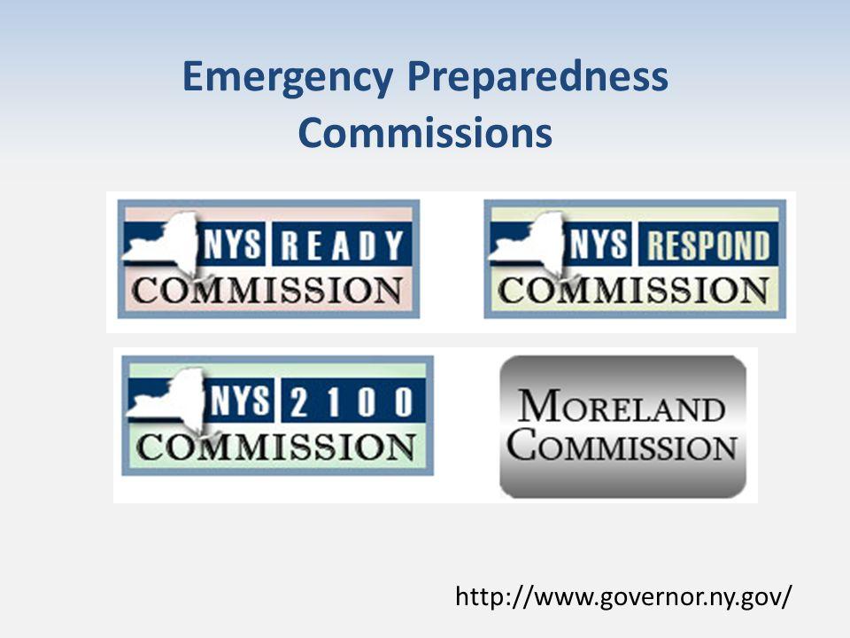Emergency Preparedness Commissions http://www.governor.ny.gov/