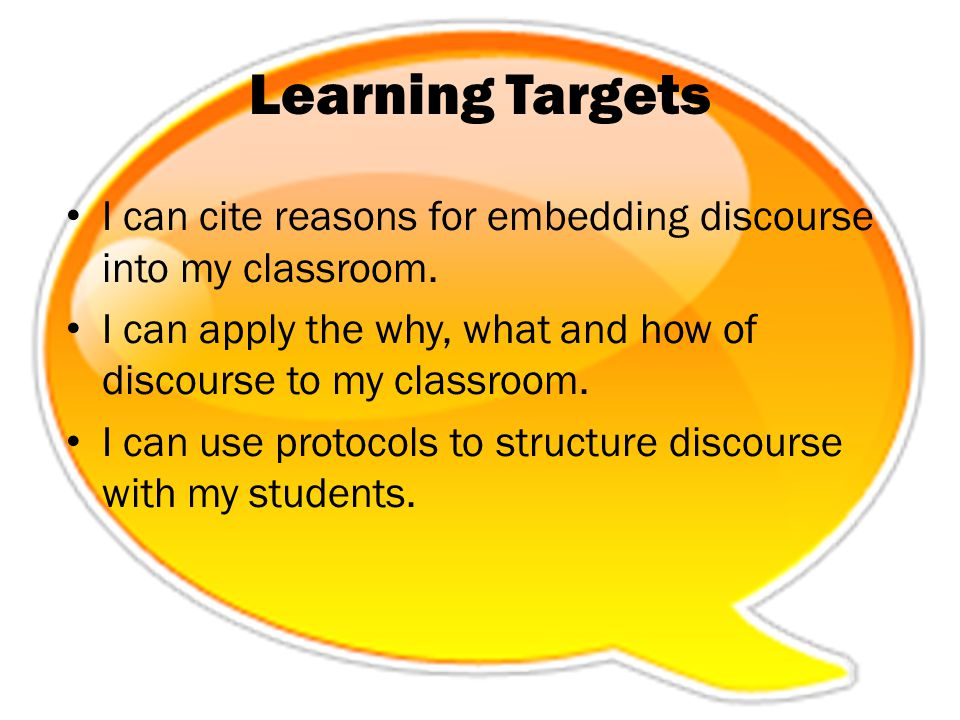 Discourse Moves Expert Groups Read your assigned skill – Elaborate and Clarify pg.