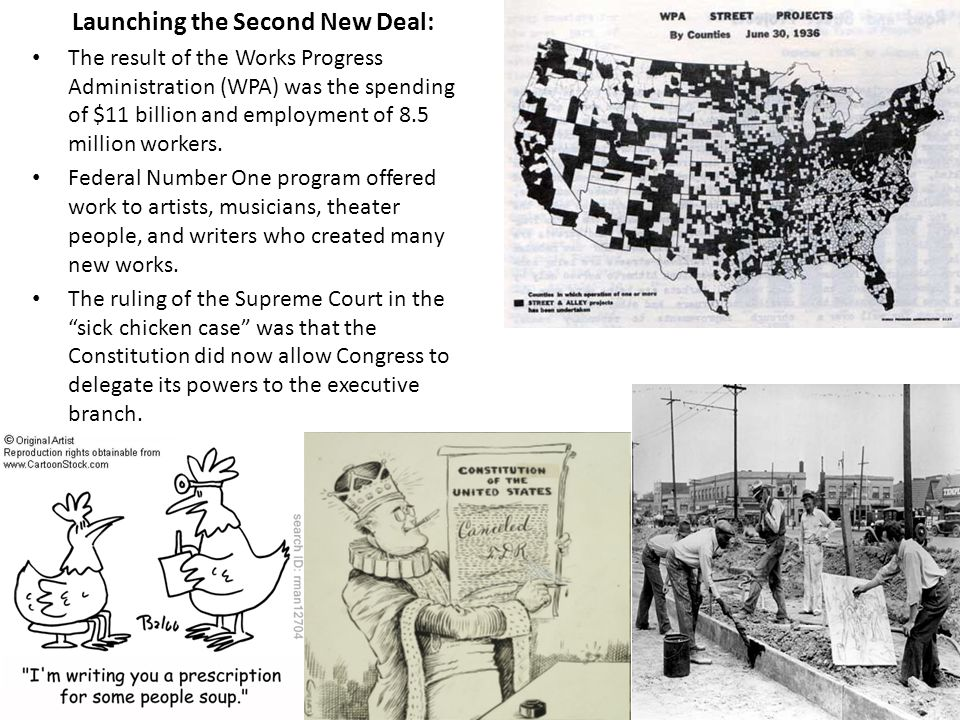 The Second New Deal Challenges to the New Deal: The right wing thought of the New Deal as dangerous the left wing thought of the New Deal as Roosevelt