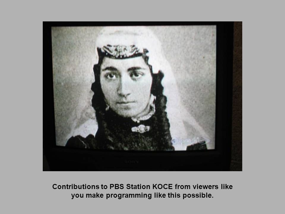 Contributions to PBS Station KOCE from viewers like you make programming like this possible.