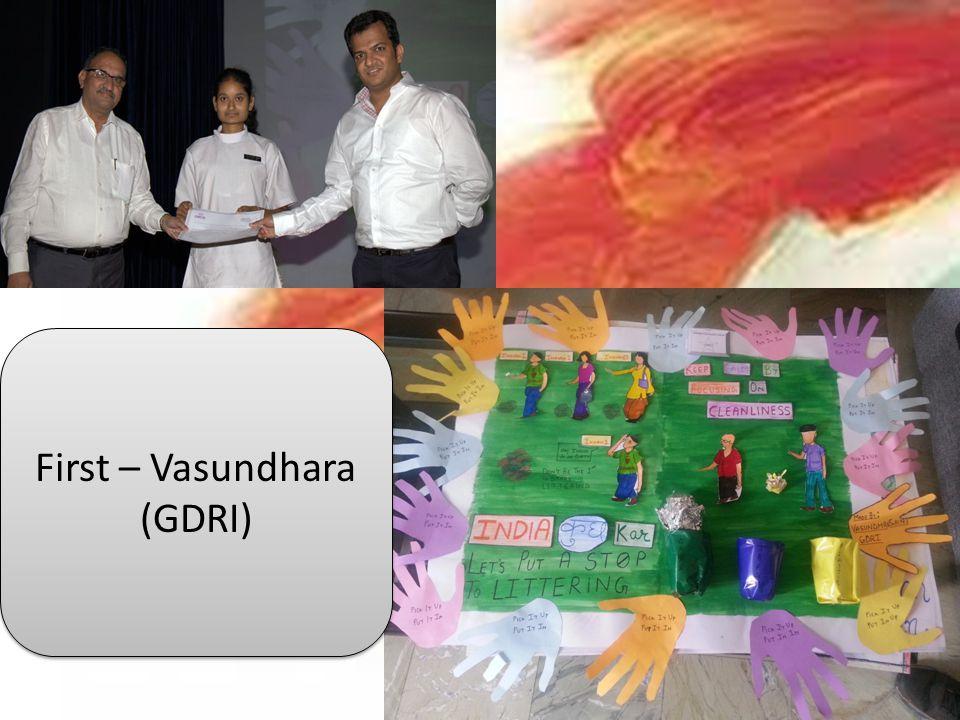 First – Vasundhara (GDRI)