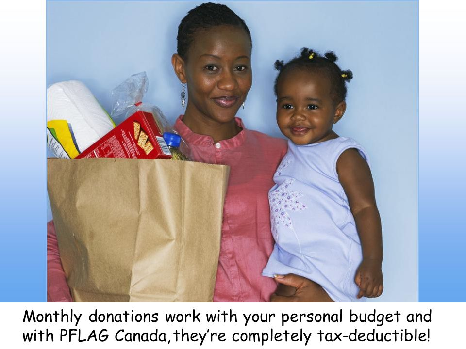 that is processed automatically through your credit card or bank account. By making a recurring donation every month,