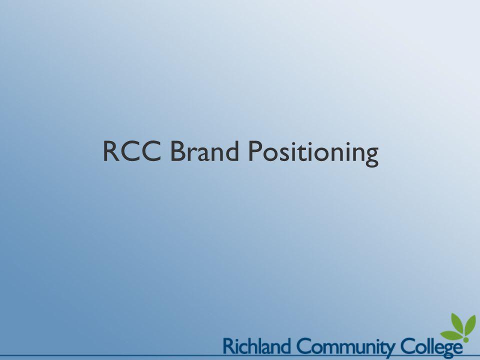 RCC Brand Positioning