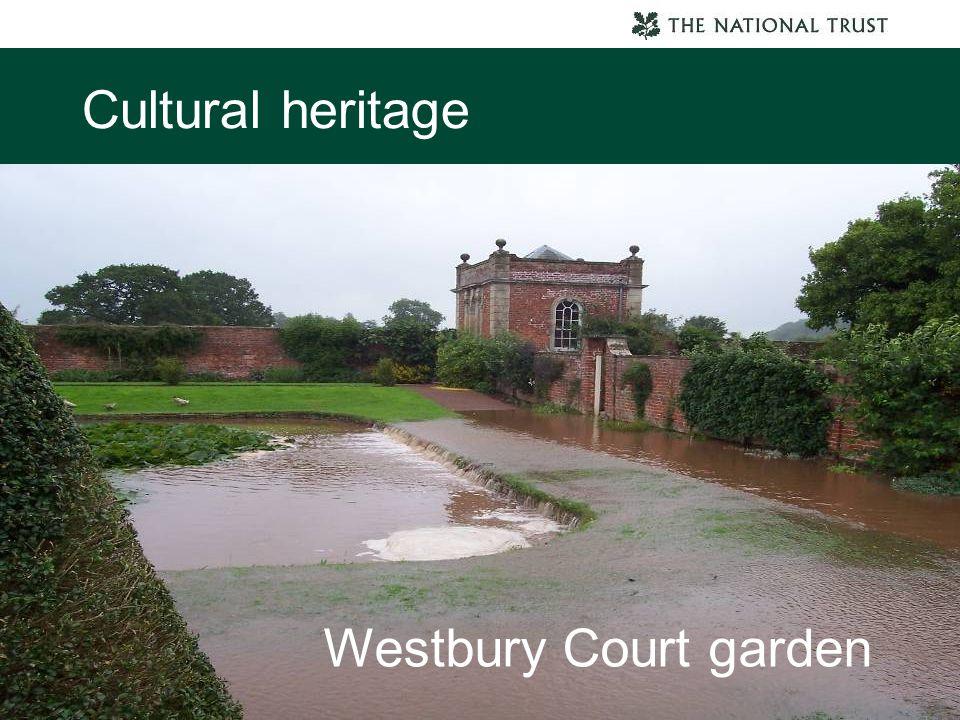 Cultural heritage Westbury Court garden
