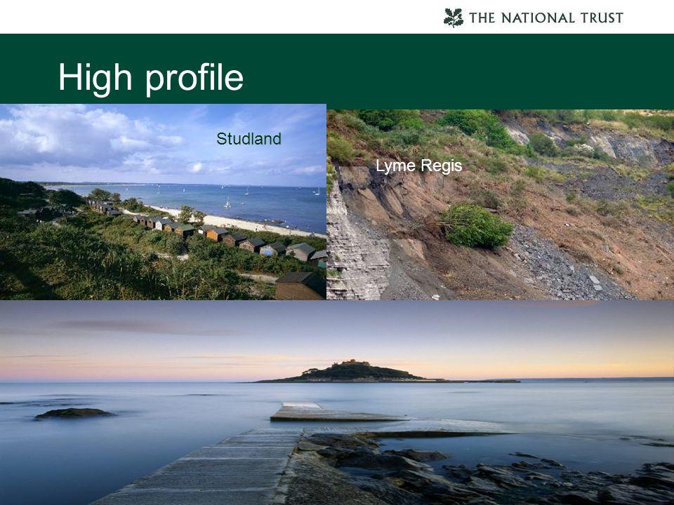High profile Studland Lyme Regis Botallack