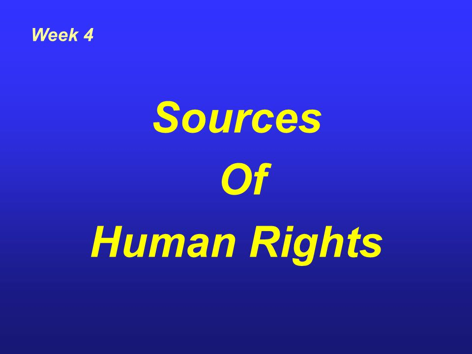 Since the second world war international human rights law has been developing in an unpredictable way and has become a basic part of international law as a whole International Organization, whose concern is directed on the human person or certain categories of human persons.