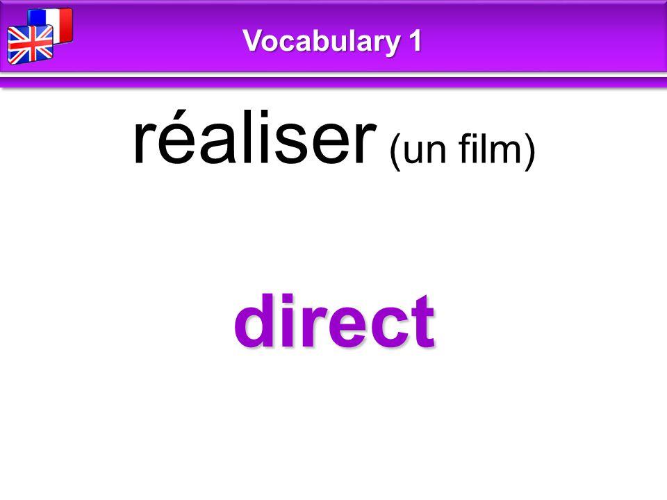 dub doubler (voix) Vocabulary 1