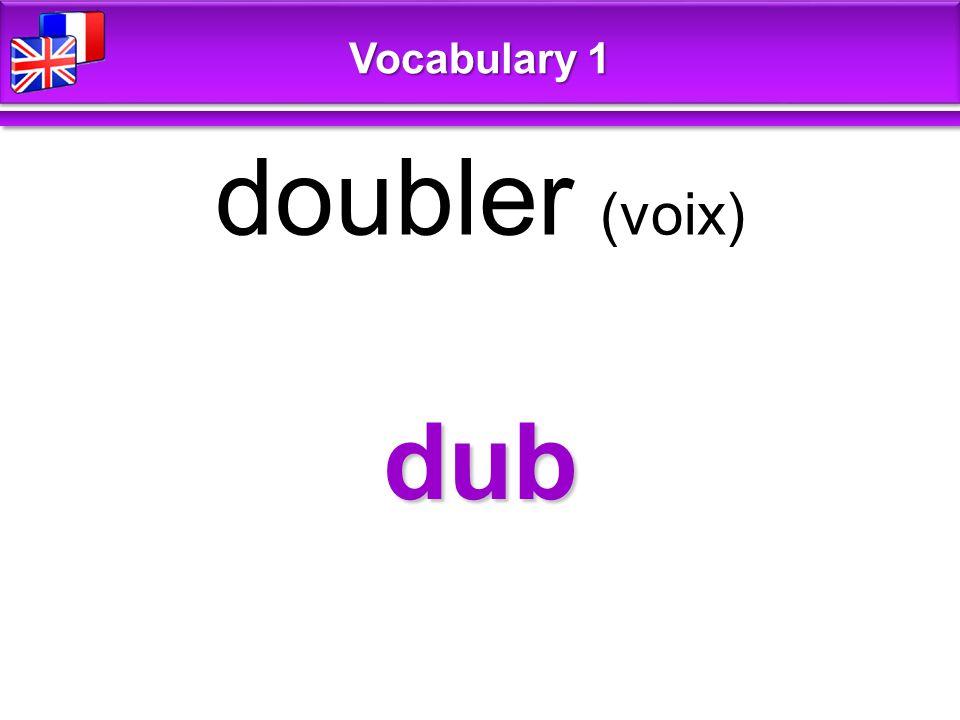 think penser Vocabulary 1