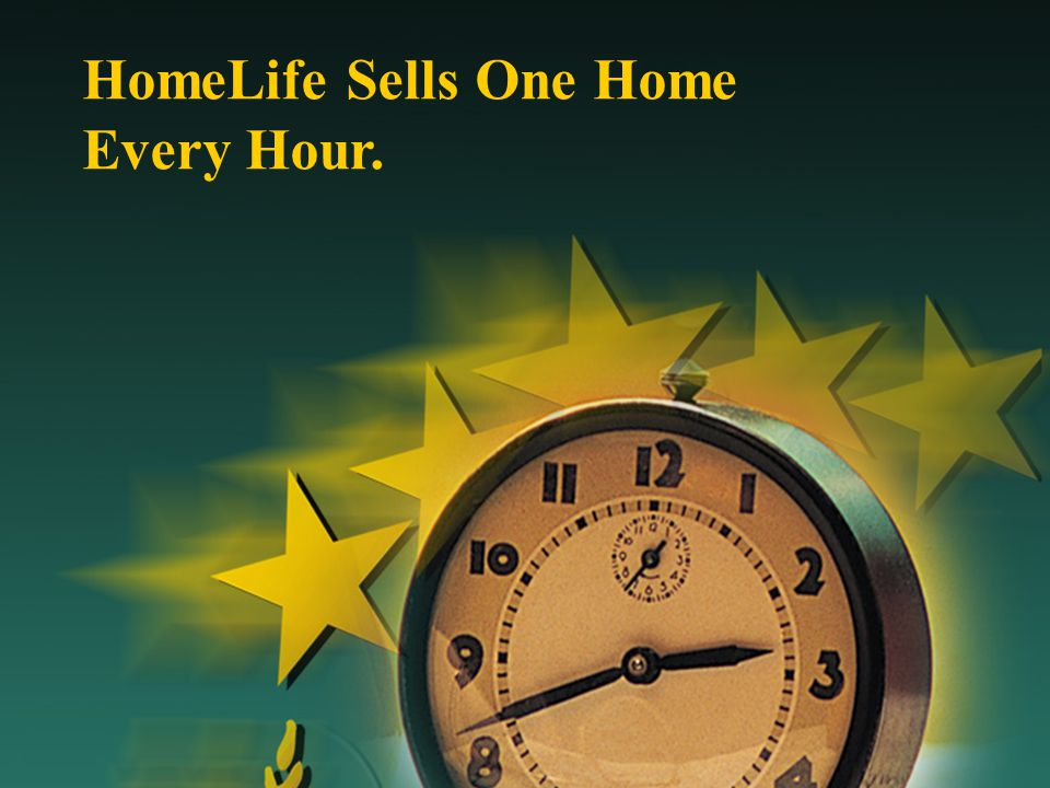 HomeLife Sells One Home Every Hour.