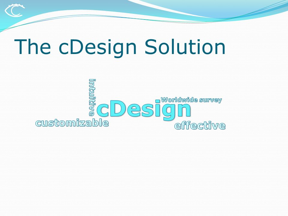The cDesign Solution