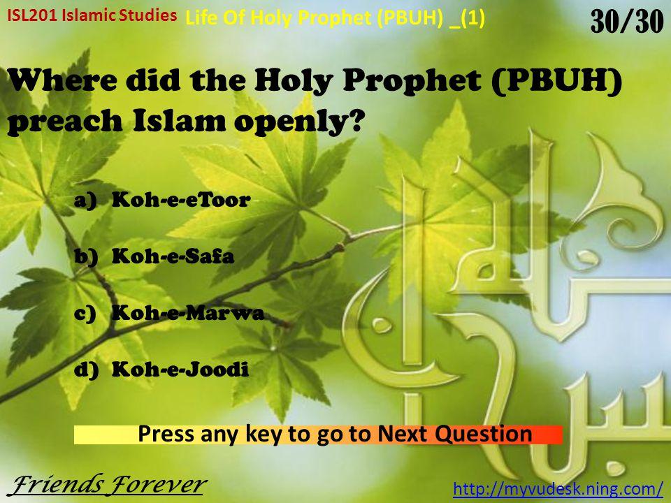 Where did Hazrat Muhammad (PBUH) and Hazrat Abu Bakar (R.A) take refugee.
