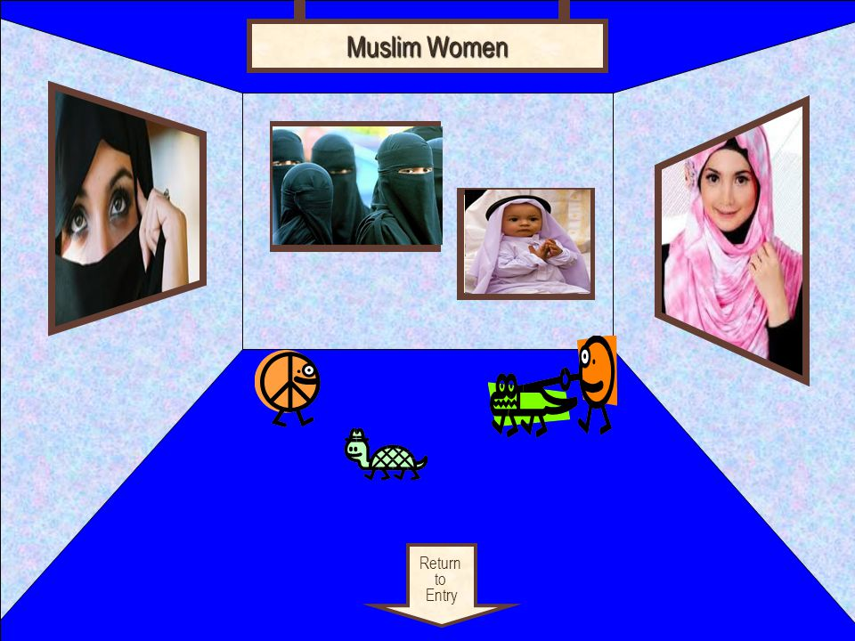Linked citation goes here Return to Exhibit Hijab Hijabs are what Muslim women wear.