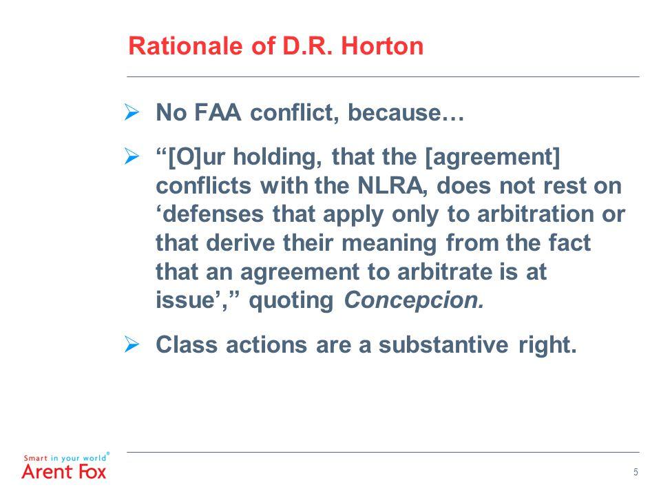 Rationale of D.R.